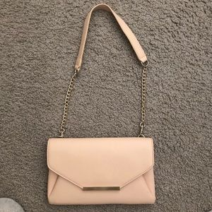 Beige CrossBody with Gold Detail